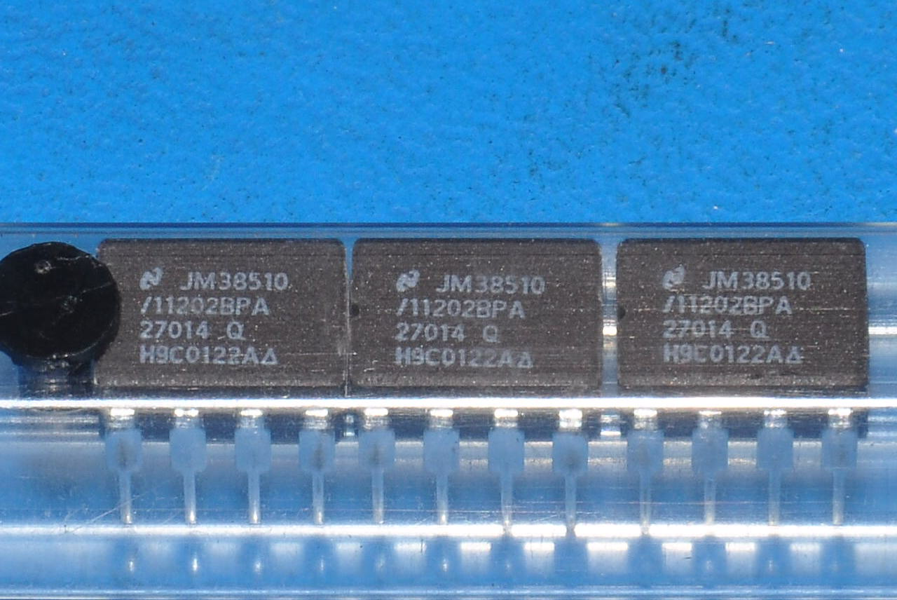 2 pcs ic jm3851011202bpa 8 pin cdip national 3851011202 2 pcs ic jm38510 11202bpa 8 pin cdip xflitez Gallery